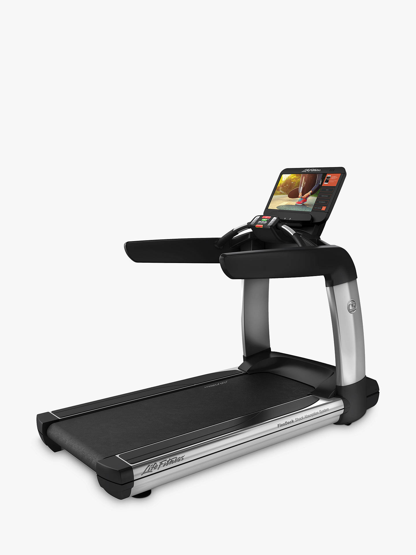 BuyLife Fitness Platinum Club Series Treadmill with Discover SE3 Console Online at johnlewis.com