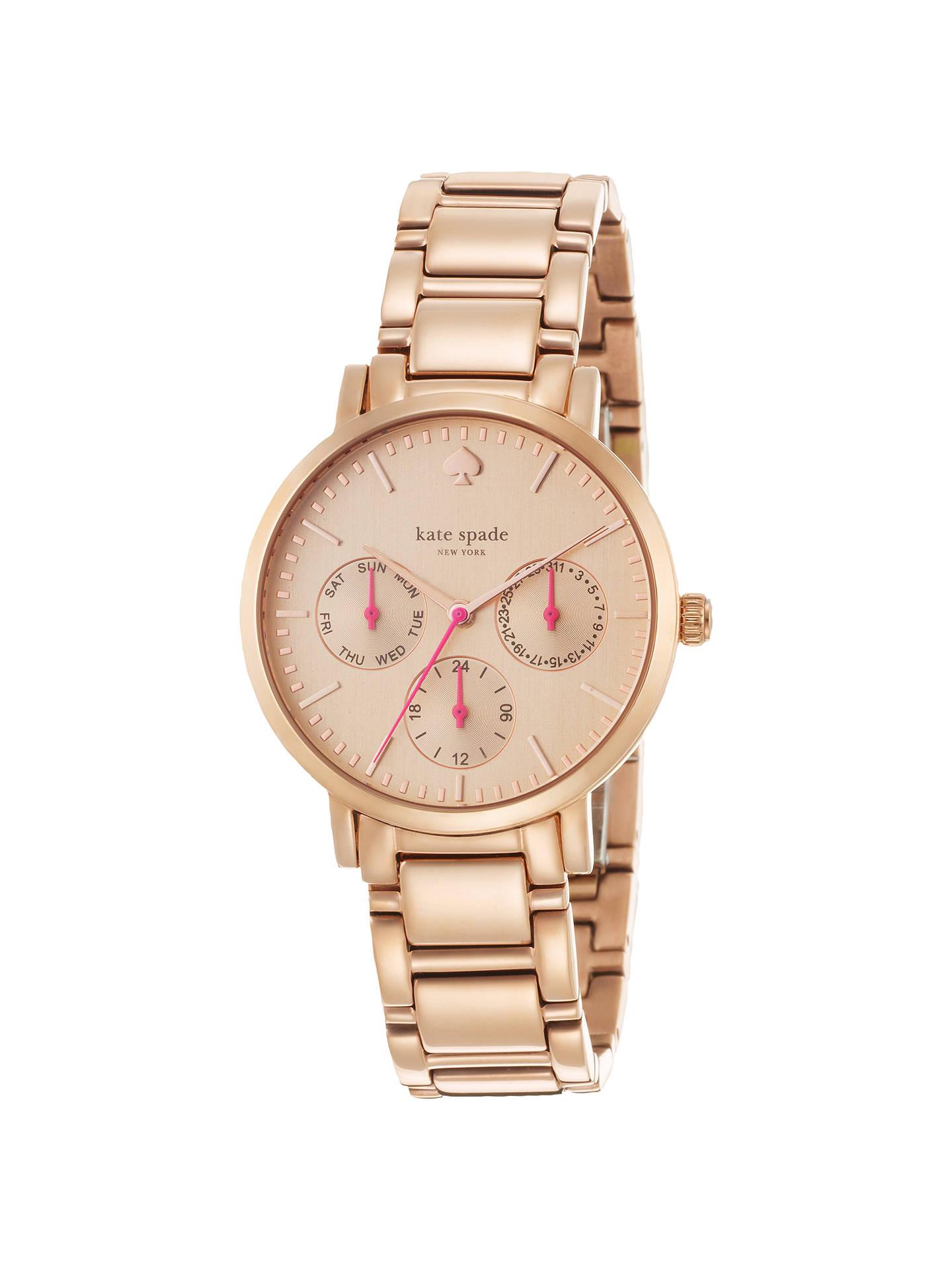 b62d82921 Buy kate spade new york 1YRU0470 Women's Gramercy Chronograph Watch, Rose  Gold Online at johnlewis