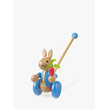 Buy Peter Rabbit Push-Along Toy Online at johnlewis.com