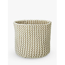 Buy Croft Collection Knitted Basket Online at johnlewis.com