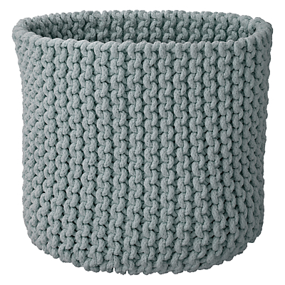 John Lewis Croft Collection Knitted Basket
