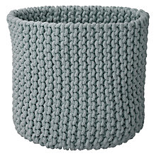 Buy John Lewis Croft Collection Knitted Basket Online at johnlewis.com
