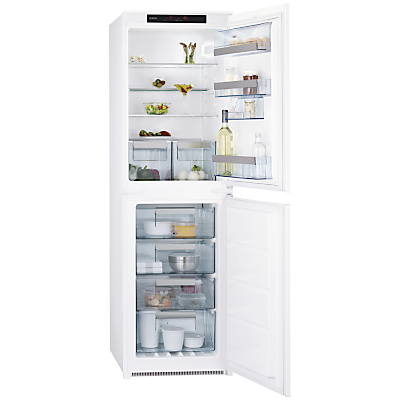AEG SCN71800S1 Integrated Fridge Freezer A Energy Rating 54cm Wide