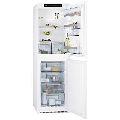 AEG SCN71800S1 Integrated Fridge Freezer, A+ Energy Rating, 54cm Wide