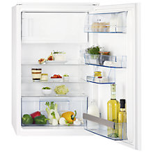 Buy AEG SKS58840S2 Integrated Fridge with Freezer Compartment, A+ Energy Rating, 54cm Wide Online at johnlewis.com