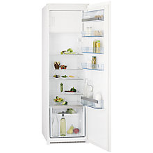 Buy AEG SKS61840S1 Integrated Fridge with Freezer Compartment, A+ Energy Rating, 54cm Wide Online at johnlewis.com