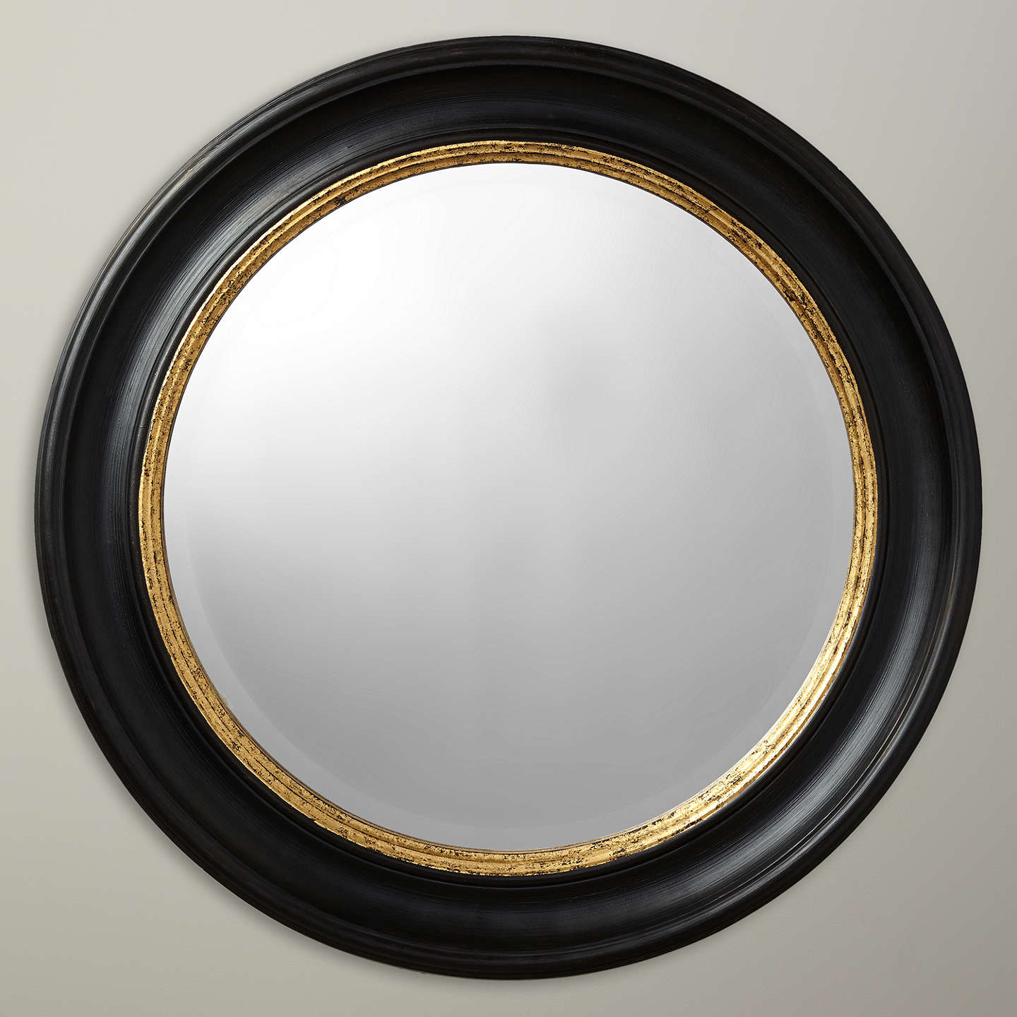 john lewis circle wall mirror black gold at. Black Bedroom Furniture Sets. Home Design Ideas