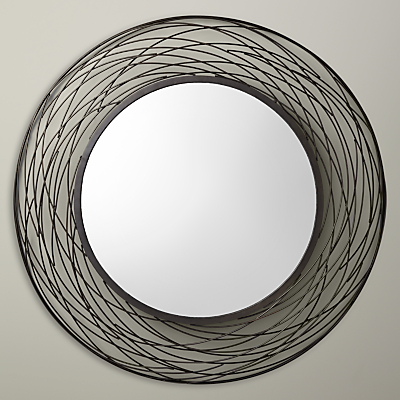 John Lewis Fusion Swirl Mirror, Dia. 114cm