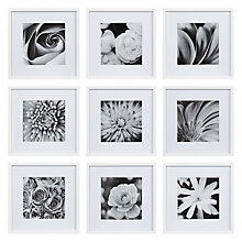 Buy Nielsen Gallery Perfect Multi-Aperture Piece Frame, 9 Photo Online at johnlewis.com