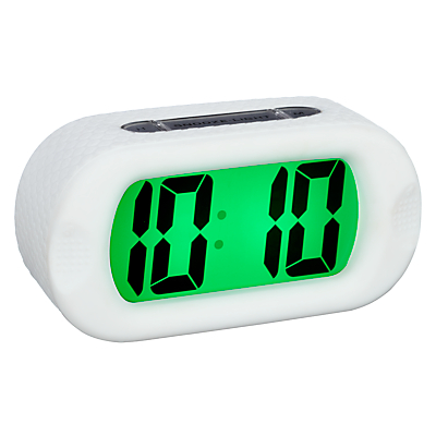 Acctim Silicone Jumbo LCD Alarm Clock