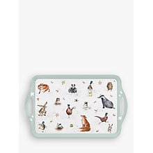 Buy Pimpernel Wrendale Animals Tray, Large Online at johnlewis.com