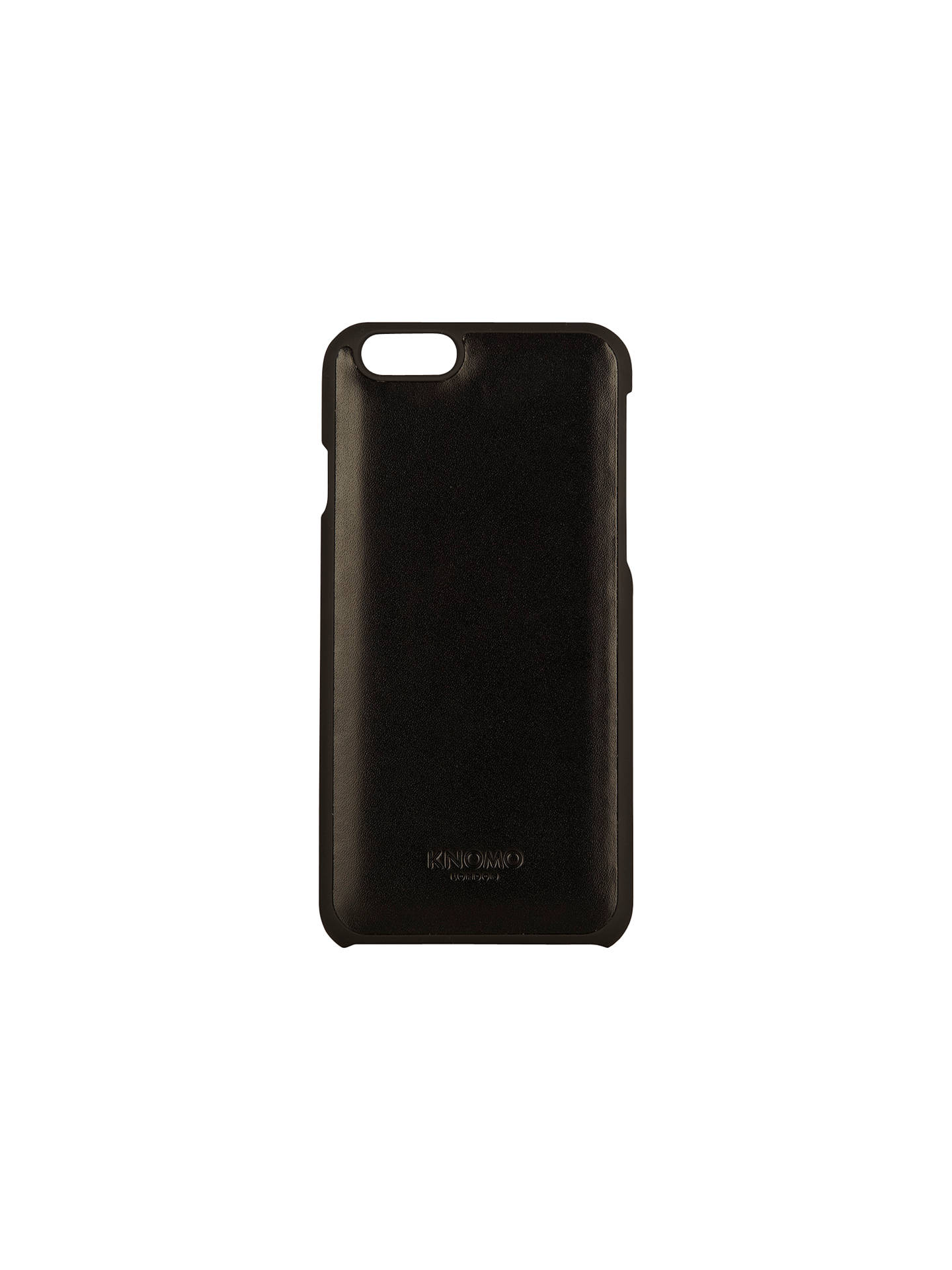meet ed891 f3376 Knomo Leather Snap On Case for iPhone 6/6s at John Lewis & Partners