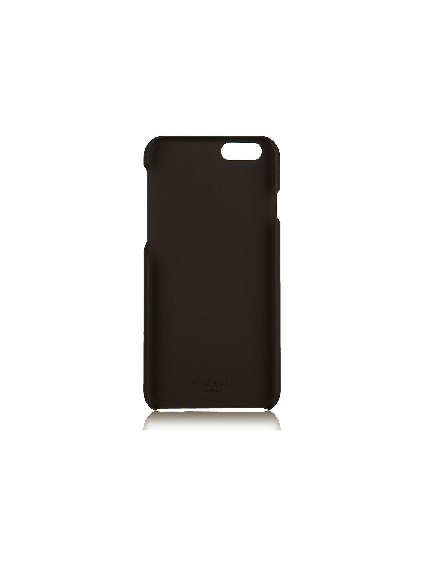 meet 5ed2b 48e8f Knomo Leather Snap On Case for iPhone 6/6s at John Lewis & Partners