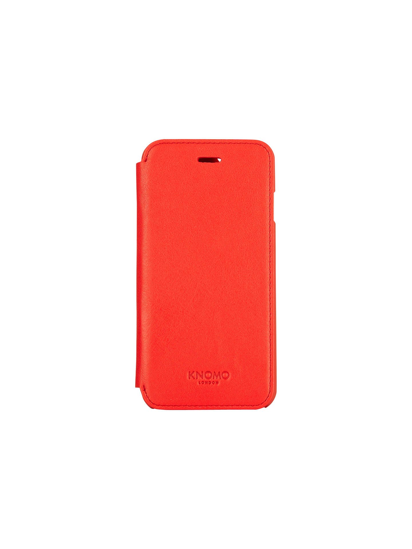 premium selection 89be0 507ec Knomo Leather Folio for iPhone 6 at John Lewis & Partners