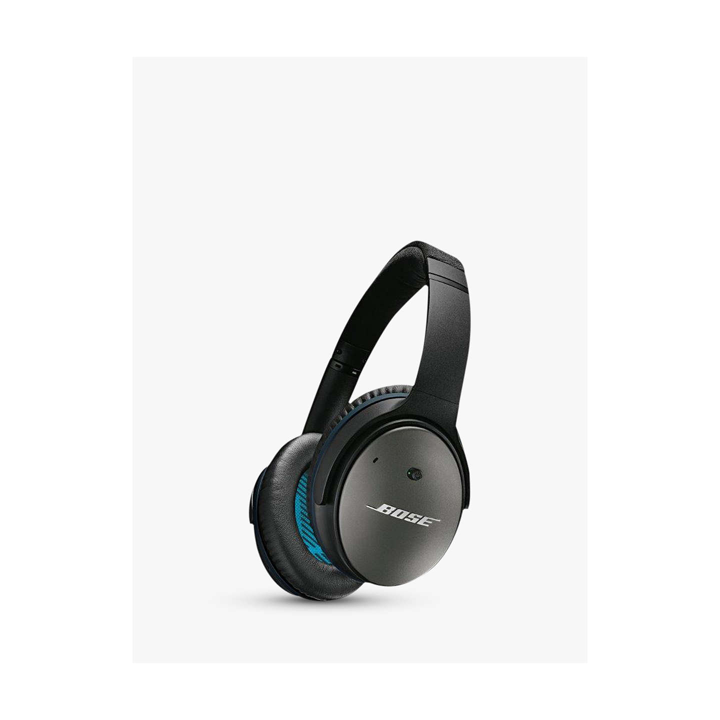 BuyBose® QuietComfort® Noise Cancelling® QC25 Over-Ear Headphones For iOS/ Apple iPhone or iPod, Black Online at johnlewis.com