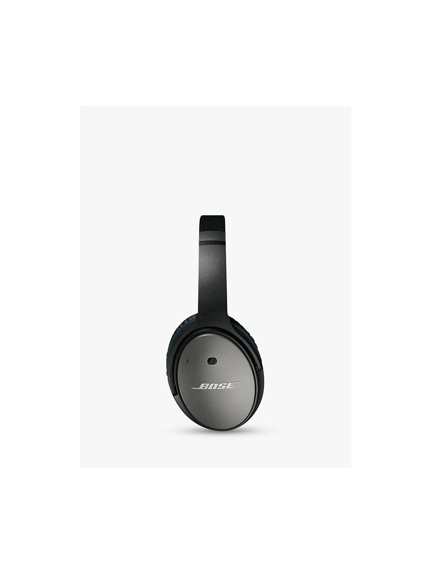 Buy Bose® QuietComfort® Noise Cancelling® QC25 Over-Ear Headphones For iOS/ Apple iPhone or iPod, Black Online at johnlewis.com
