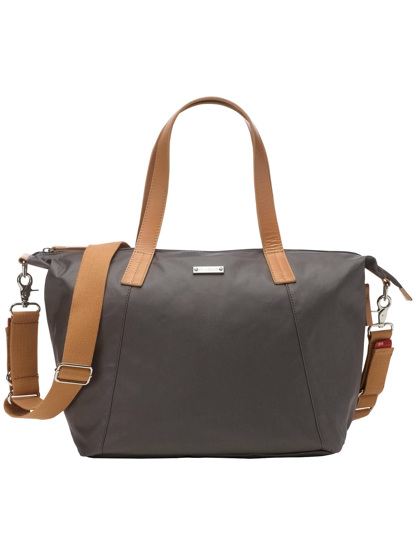 Storksak Noa Changing Bag Chestnut Grey