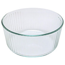 Buy Pyrex Glass Round Souffle Oven Dish, 21cm Online at johnlewis.com