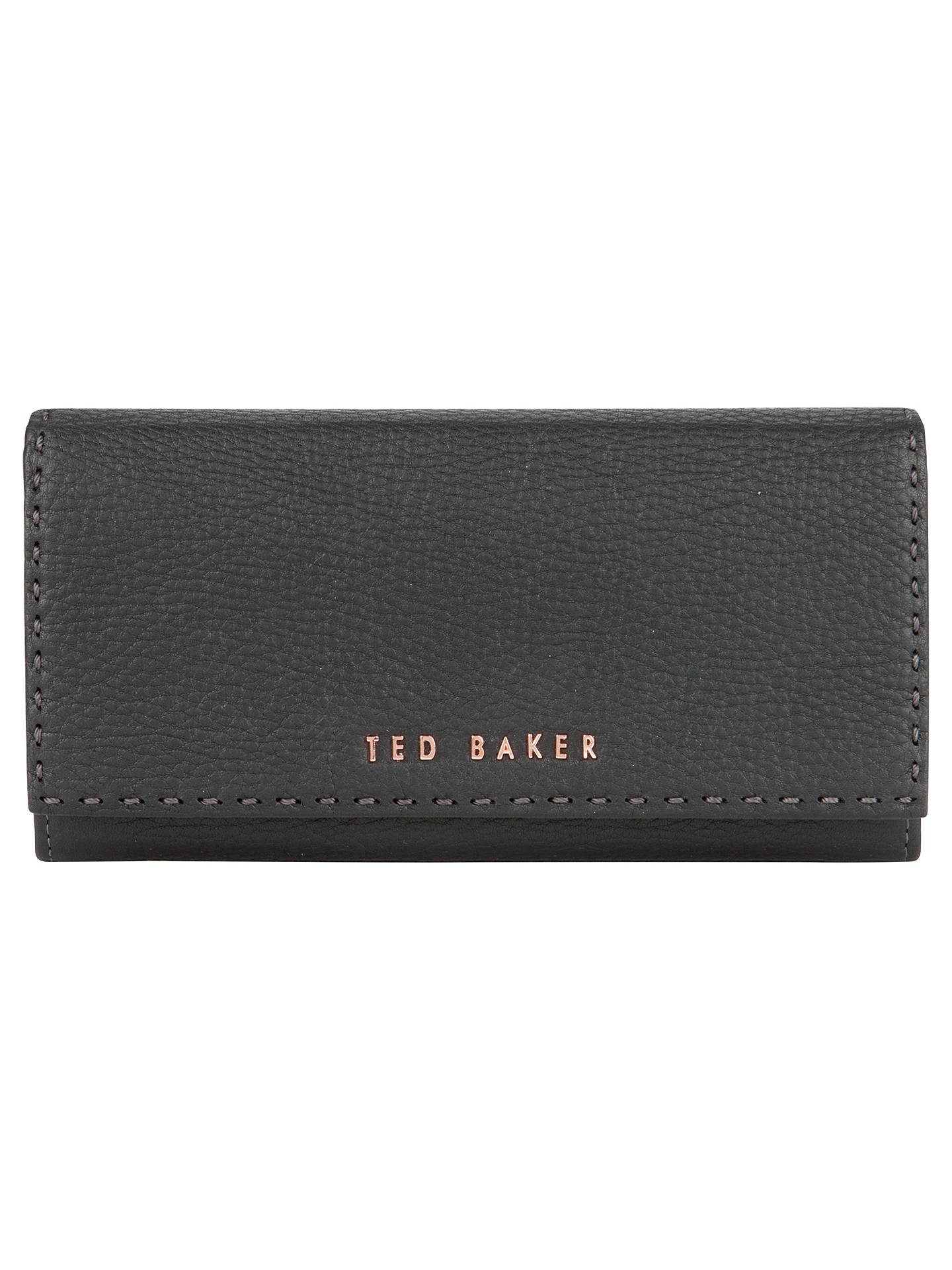 3fd8732a4 Ted Baker Sizzer Leather Matinee Wallet at John Lewis   Partners
