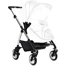 Buy Silver Cross Wayfarer Pushchair with Chassis, Seat and Carrycot, Chrome Online at johnlewis.com