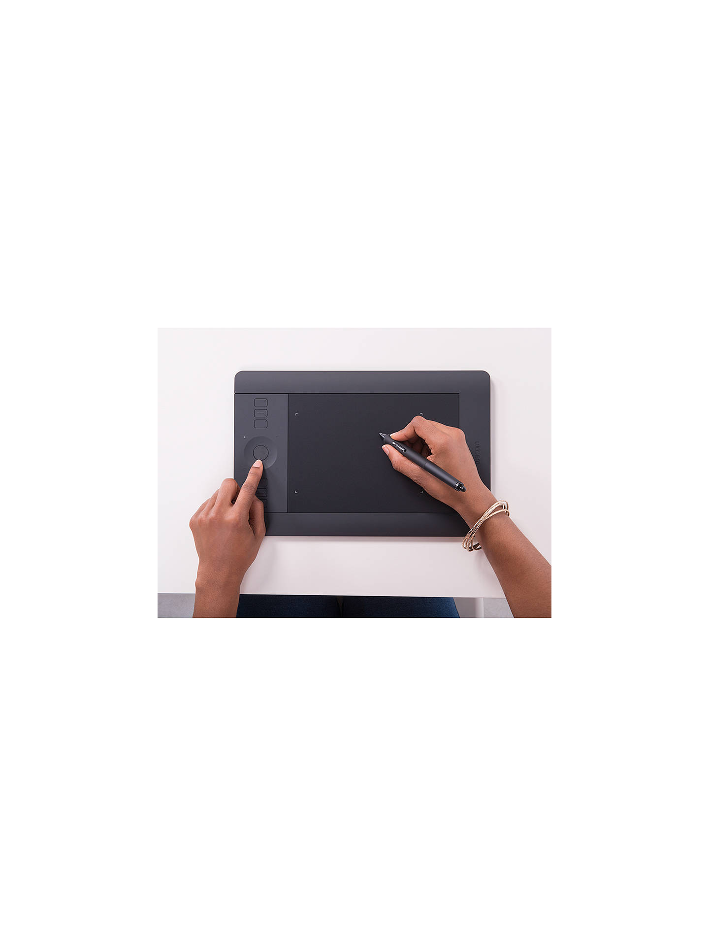 Wacom Intuos Pro Small Graphic Tablet and Grip Pen at John