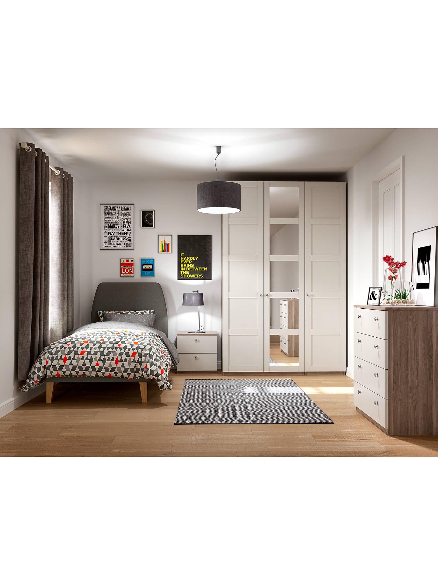 house by john lewis jamie bed frame grey single at john. Black Bedroom Furniture Sets. Home Design Ideas