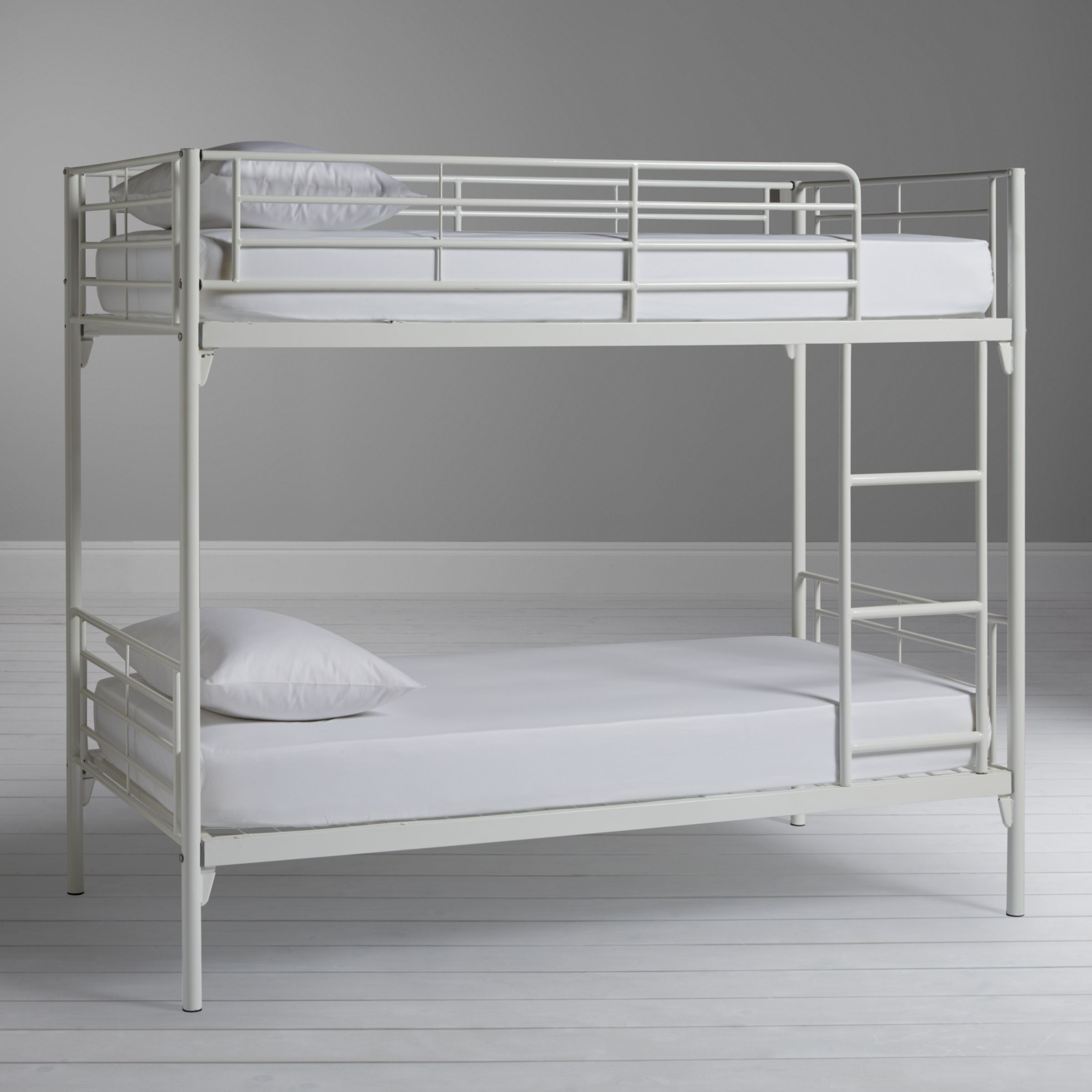 Silentnight Oscar Metal Bunk Bed White At John Lewis Partners