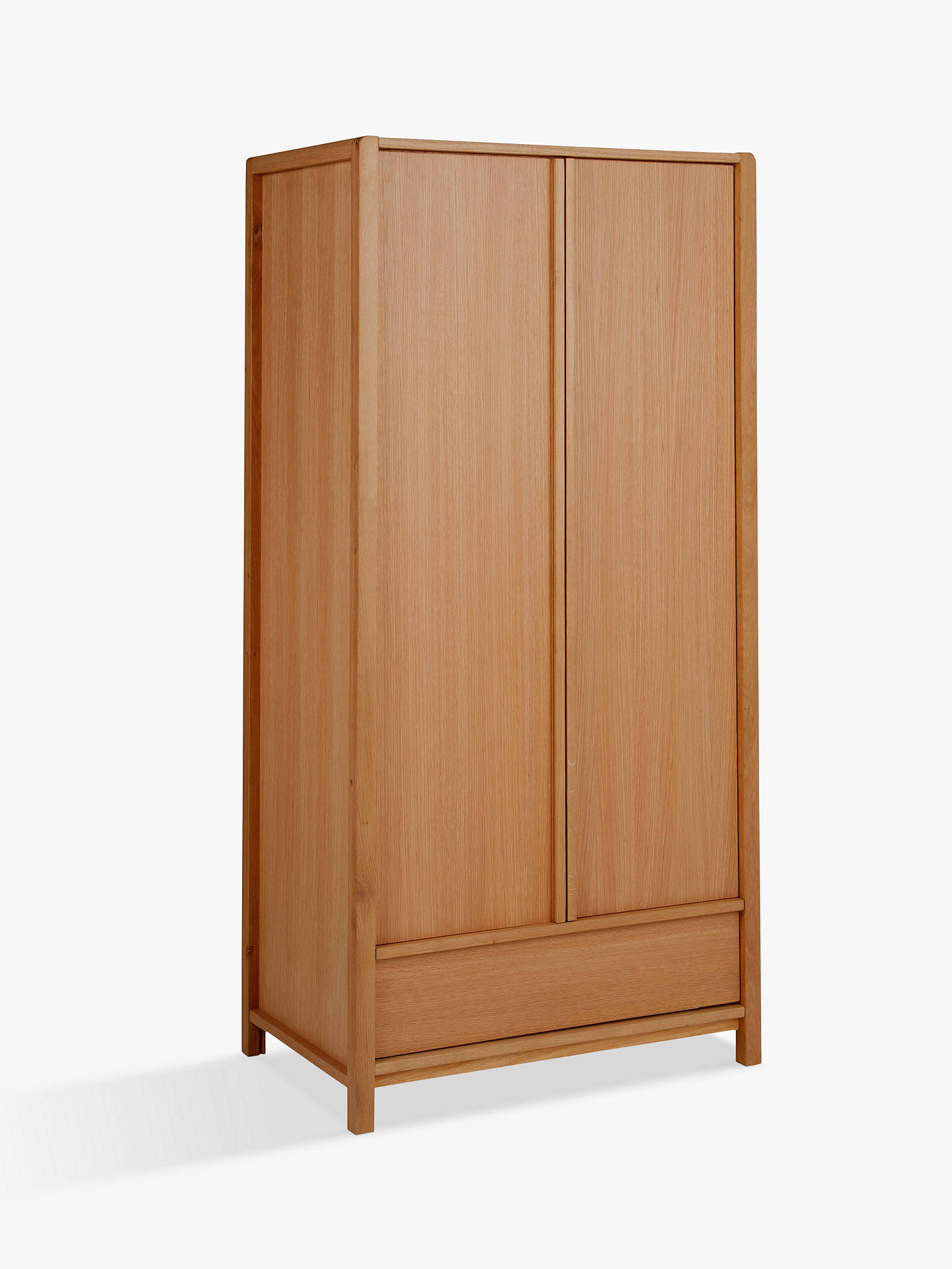 Buy John Lewis & Partners Montreal 2 Door Wardrobe, Oak Online at johnlewis.com