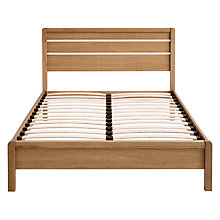 Buy John Lewis Montreal Bed Frame, King Size, Oak Online at johnlewis.com