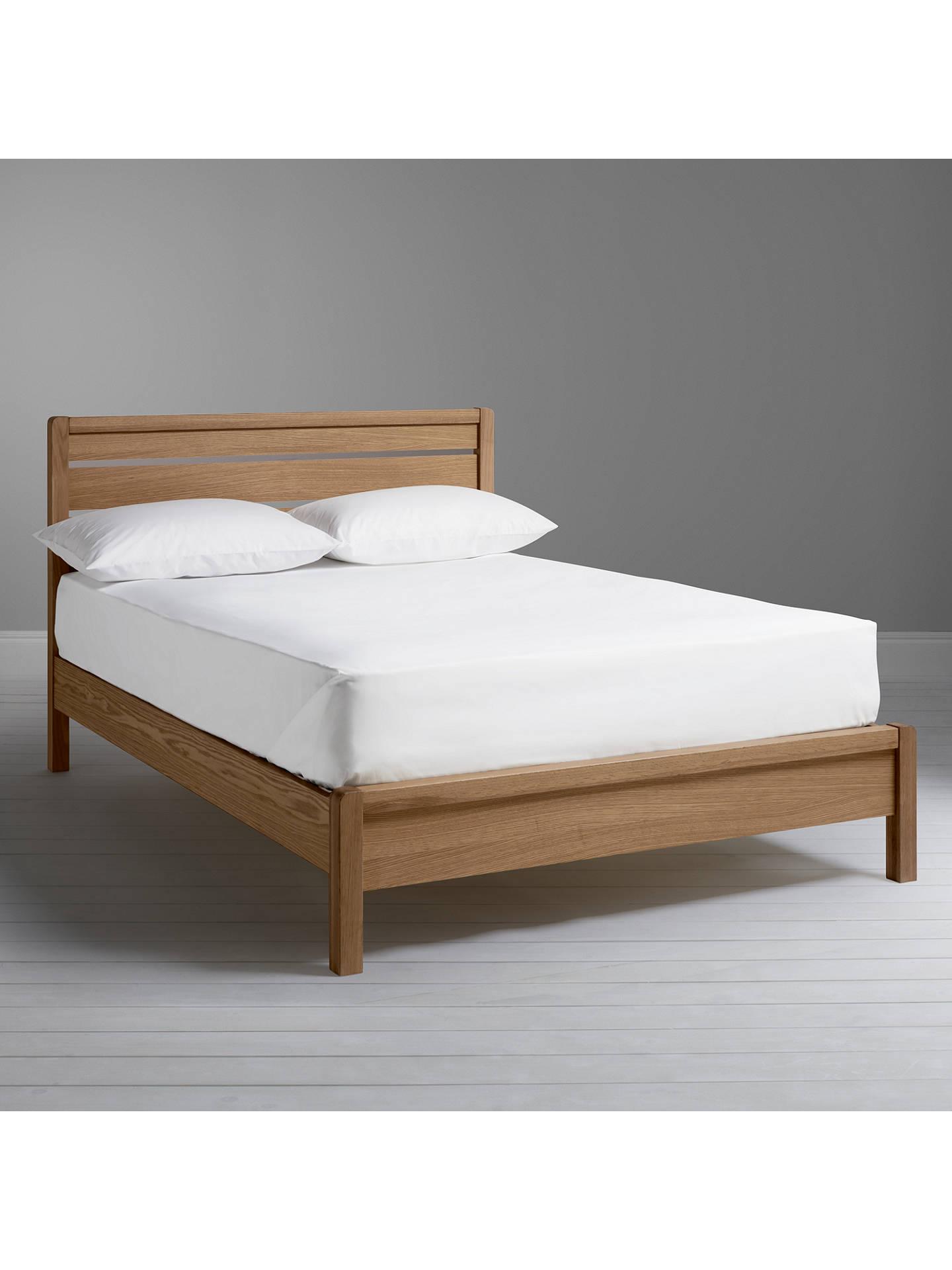 John Lewis & Partners Montreal Bed Frame, Double, Oak
