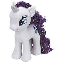 Buy Ty My Little Pony Rarity Beanie Baby, 30cm Online at johnlewis.com