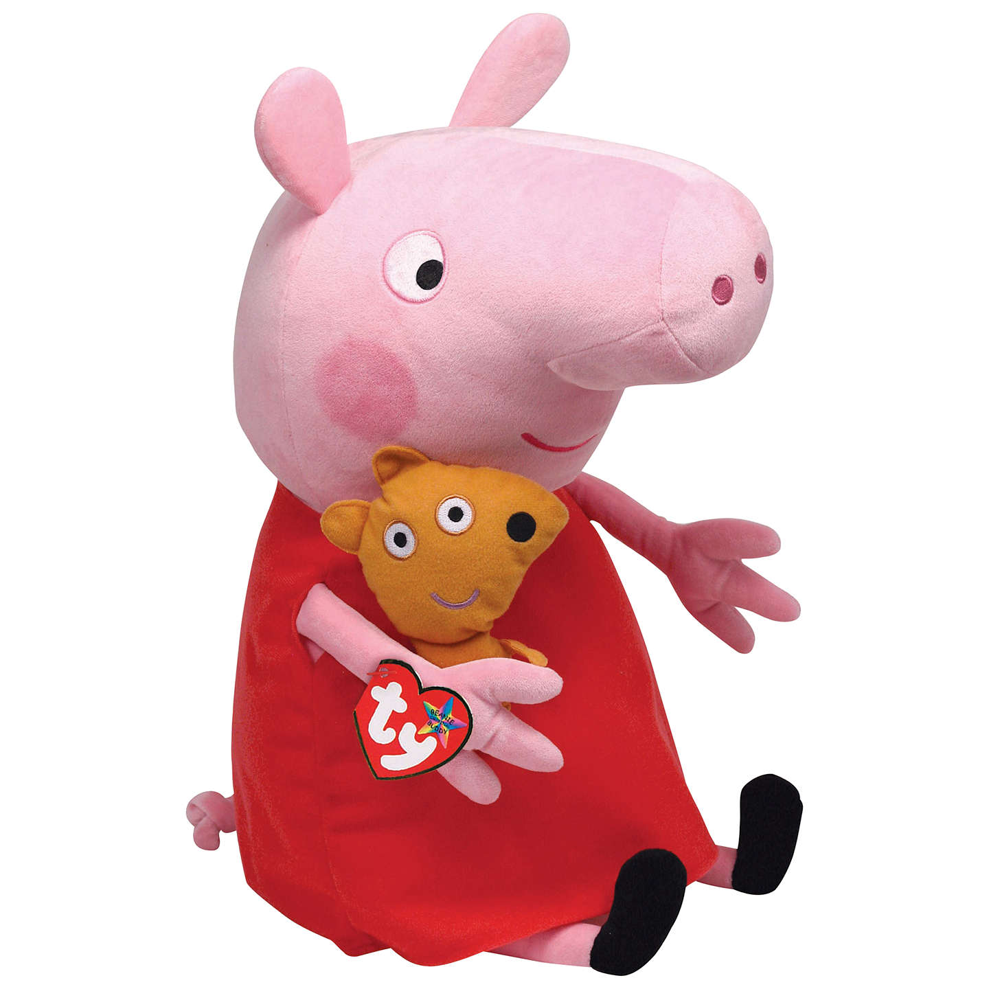 Best Peppa Pig Toys : Ty peppa pig soft toy cm at john lewis