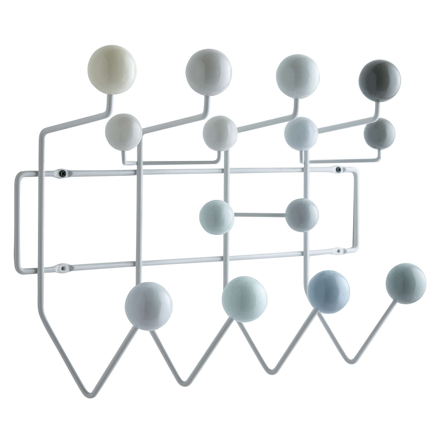 vitra eames 39 hang it all 39 wall rack at john lewis. Black Bedroom Furniture Sets. Home Design Ideas