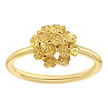 Buy London Road 9ct Yellow Gold Posy Ring, Gold Online at johnlewis.com