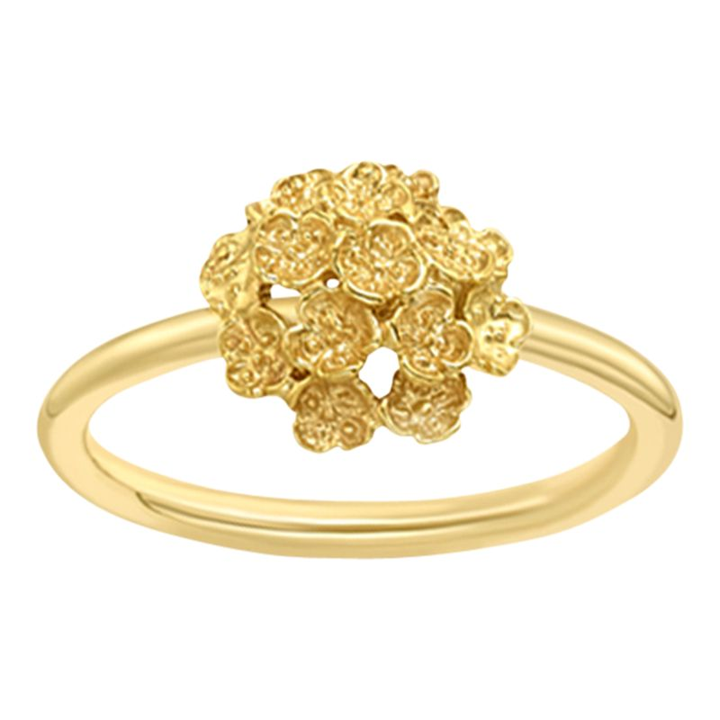 London Road London Road 9ct Yellow Gold Posy Ring, Gold