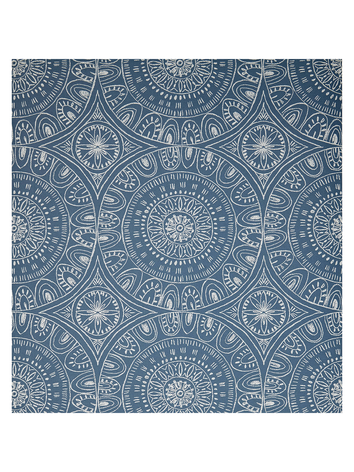 John Lewis Partners Persia Wallpaper Indian Blue