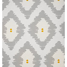 Buy John Lewis Patagonia Wallpaper, Smoke / Saffron Online at johnlewis.com