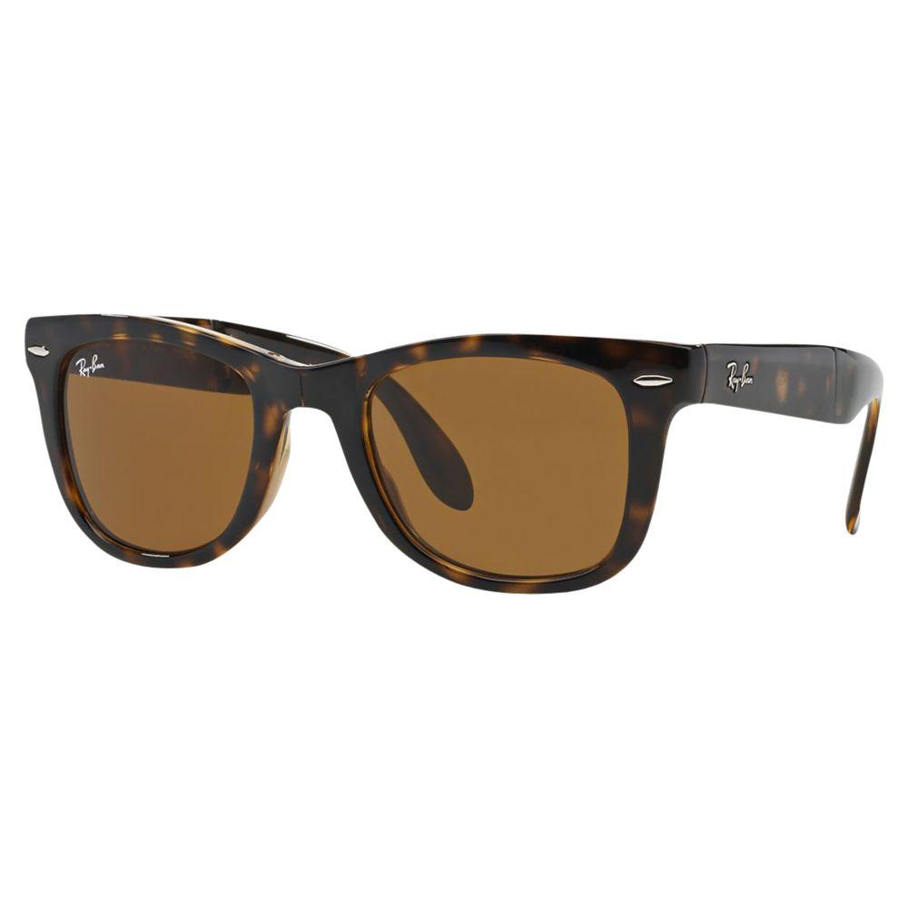 519e55c437aa9 ... where to buy ray ban rb4105 mens folding wayfarer sunglasses at john  lewis partners 619f0 13089