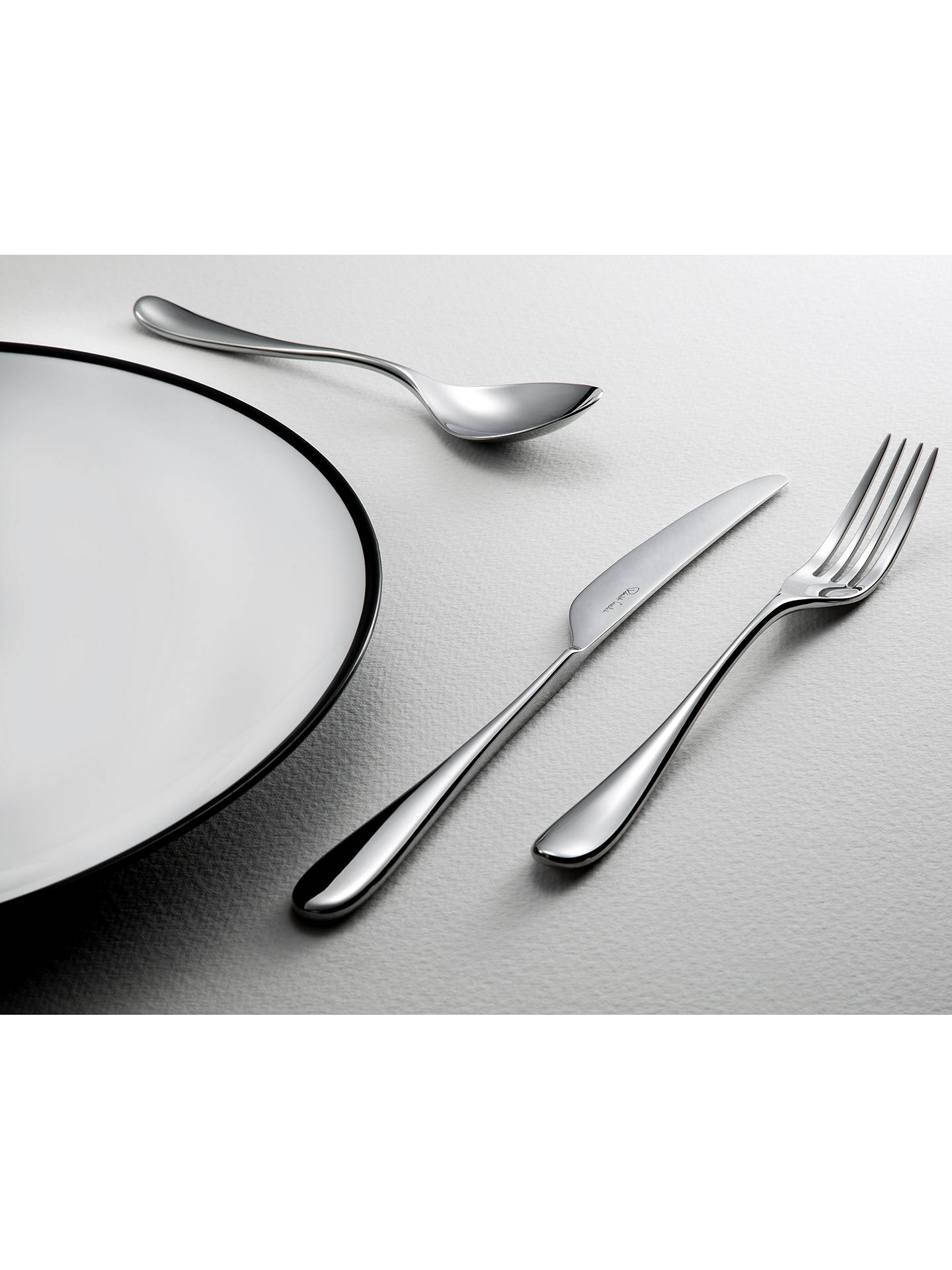 Buy Robert Welch Arden Serving Spoon Online at johnlewis.com