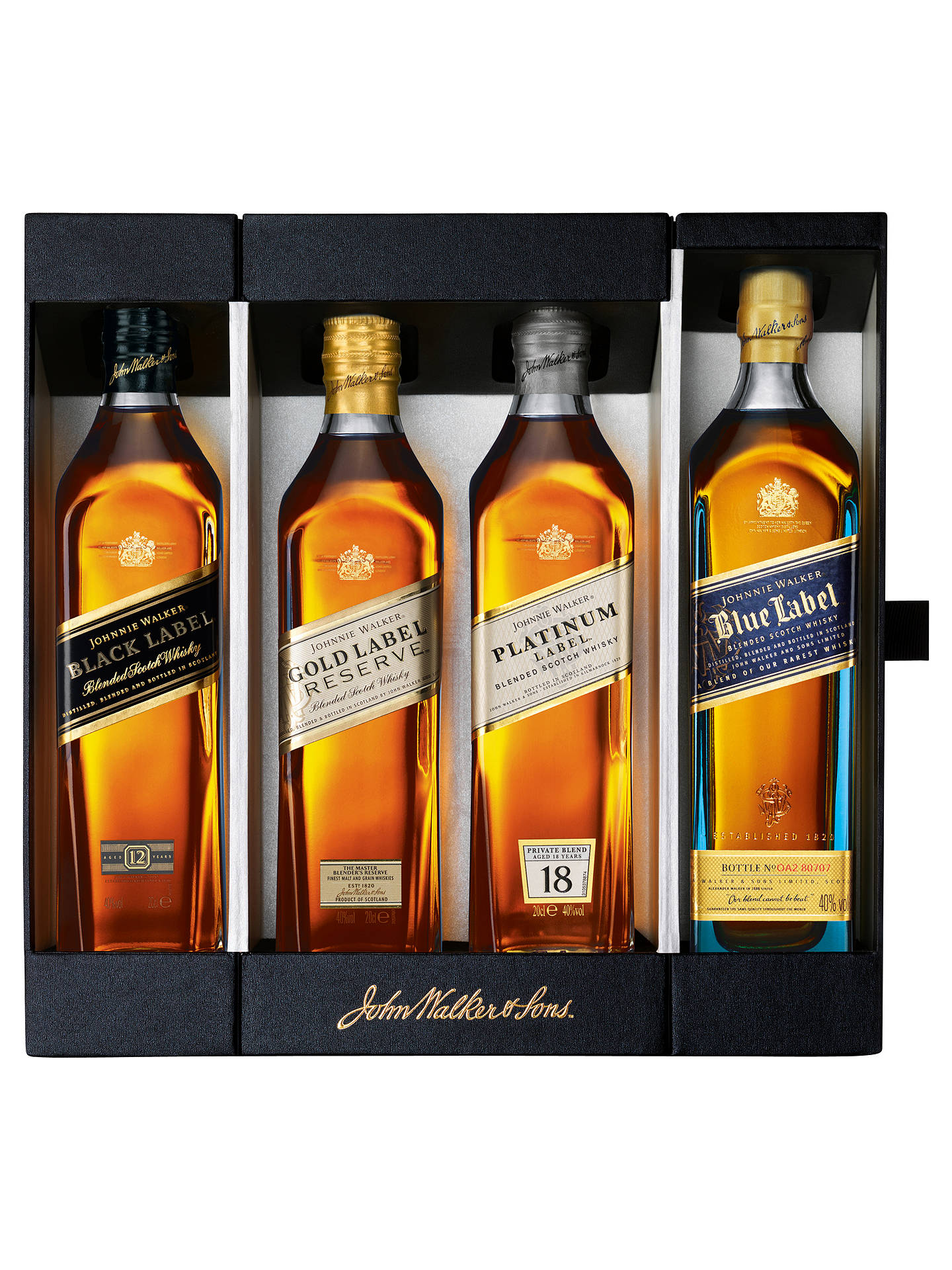BuyJohnnie Walker Whisky Collection, 20cl Online at johnlewis.com
