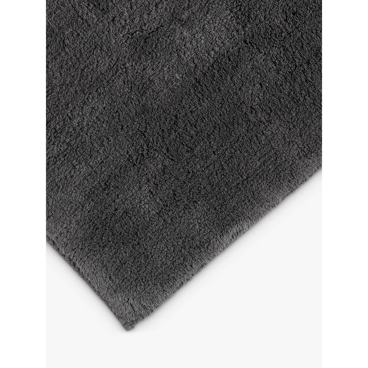 Buyjohn Lewis Supreme Reversible Bath Mat, Steel Online At Johnlewiscom