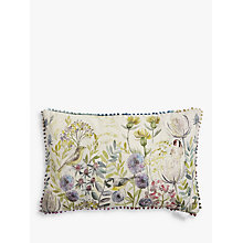 Buy Voyage Morning Chorus Cushion, Multi Online at johnlewis.com