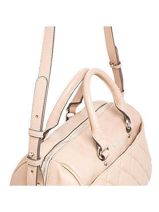 Buy Mango Quilted Panel Bag, Medium Pink Online at johnlewis.com