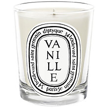 Buy Diptyque Vanille Scented Candle, 190g Online at johnlewis.com