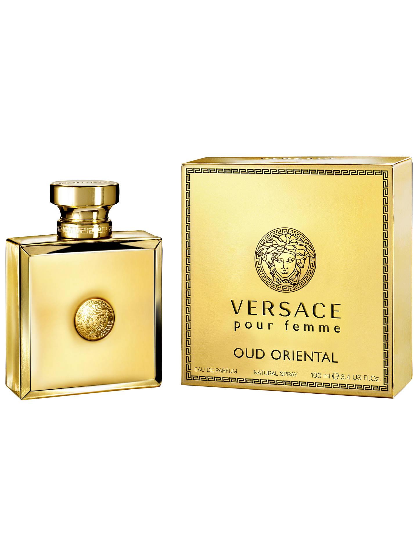 9f5c12a0df Buy Versace Pour Femme Oud Oriental Eau de Parfum, 100ml Online at  johnlewis.com