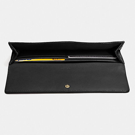 Buy Coach Slim Envelope Leather Wallet Online at johnlewis.com
