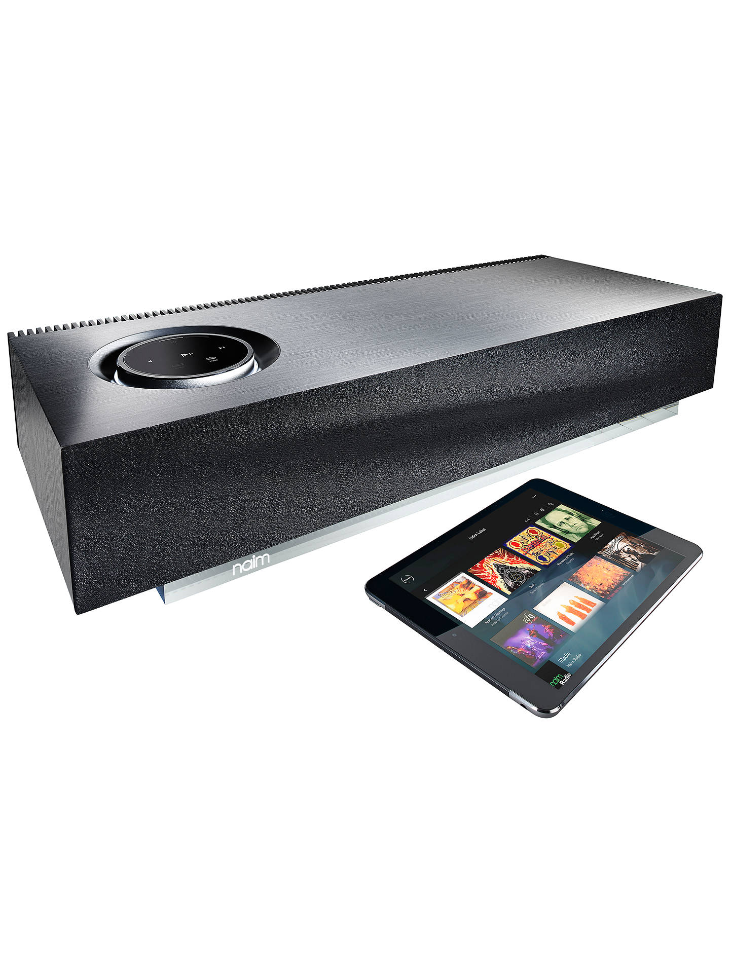 BuyNaim Audio Mu-so Wireless Bluetooth Music System with Apple AirPlay, Spotify Connect & TIDAL Compatibility Online at johnlewis.com