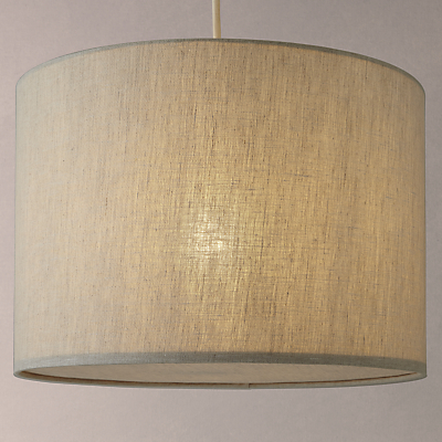John Lewis Samantha Easy-to-Fit Fabric Diffuser Drum Shade