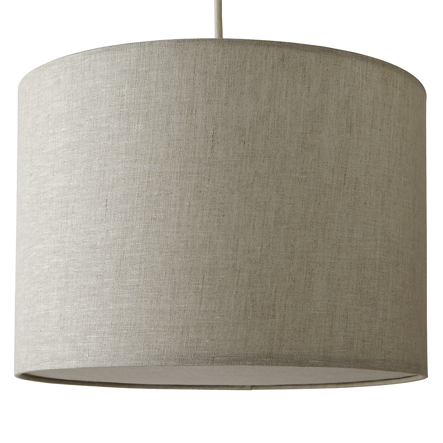 Buy john lewis samantha easy to fit fabric diffuser drum shade buy john lewis samantha easy to fit fabric diffuser drum shade online at johnlewis mozeypictures Gallery