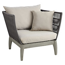 Buy John Lewis Ariel Outdoor Lounging Armchair Online at johnlewis.com